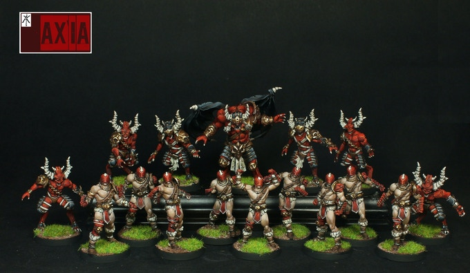 Ares Blood Demons Team