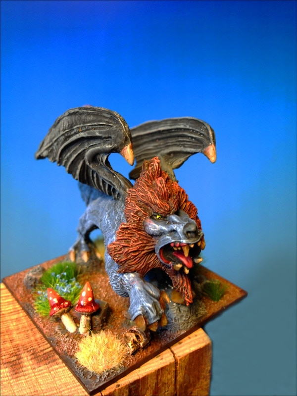 Manticore Painted