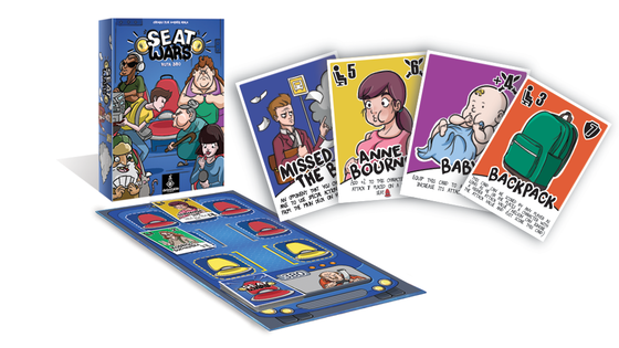 Seat Wars - A family board game with a funny sense of humor!