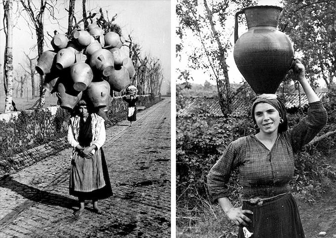 Woman Carrying Barro Preto Circa 1930's