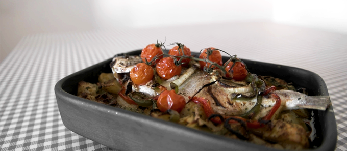 Dourada A Typical Portugese Oven Baked Fish Dish l