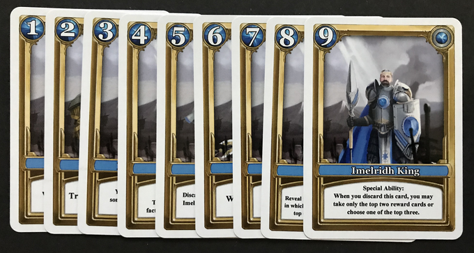 Blue Imelridh faction character cards