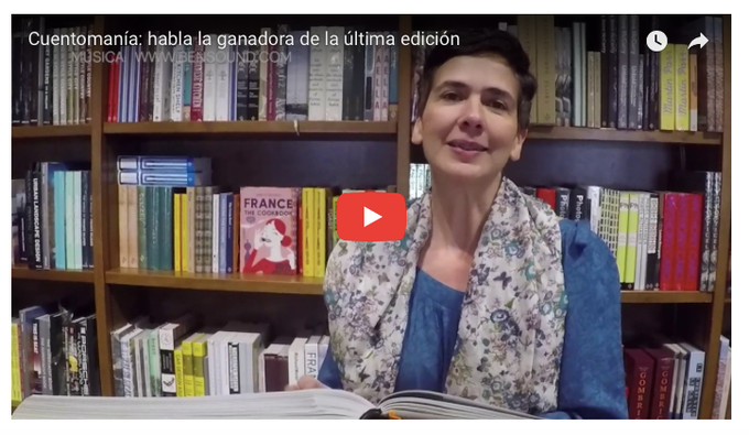 Andrea C. Martin. CuentoManía 2016 winner (click on image to watch video)