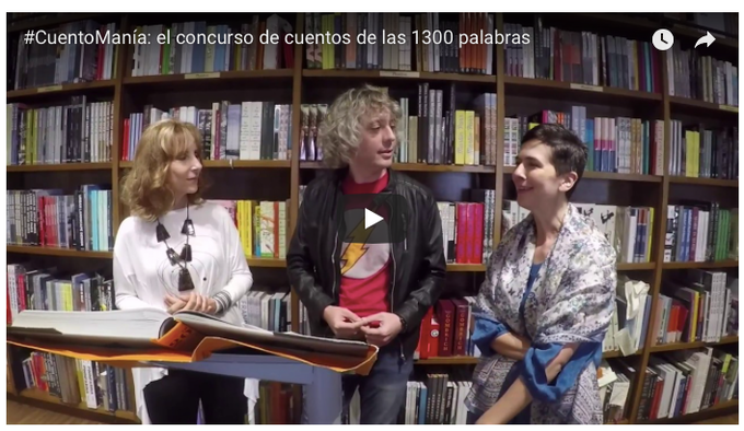 Mila Tapperi Hajjar, José Ignacio Chascas Valenzuela and Andrea C. Martin (click image to watch video)
