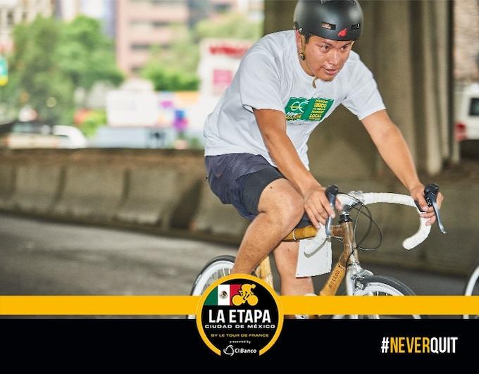 BambooMotion en la carrera! #biciDeBambu