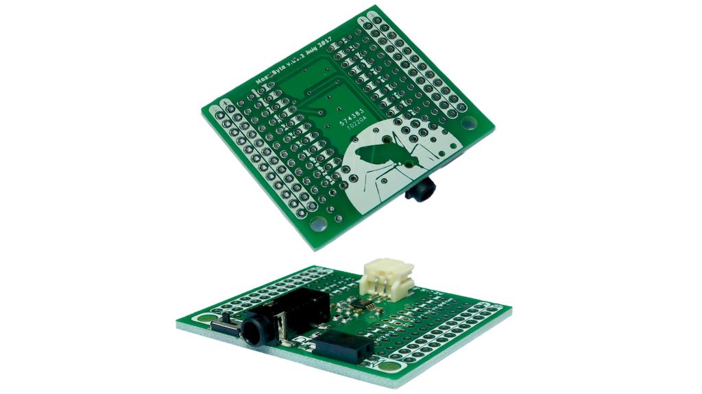 MozziByte Mozzi Arduino Mini Sensor Sonification Sound Synth project video thumbnail
