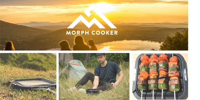 Morphcooker The All In One Electric Camp Stove By Alex