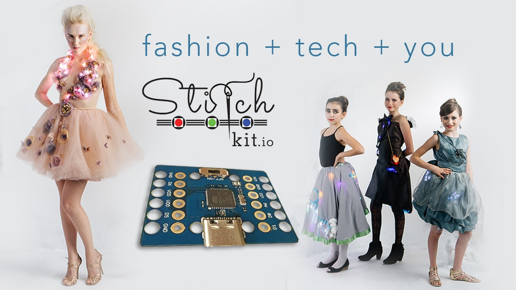 StitchKit - The Fashion Technology Kit for Everyone project video thumbnail