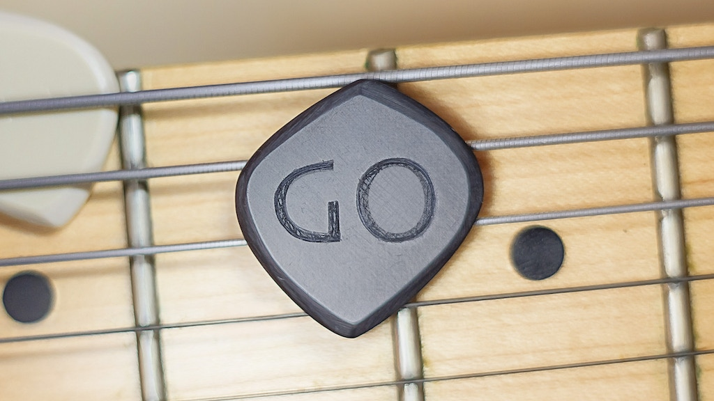 XUFOY GO Guitar Pick / Plectrum for fast playing project video thumbnail