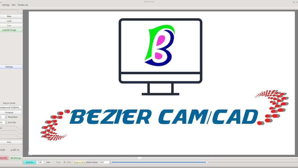 BezierCam Software project video thumbnail