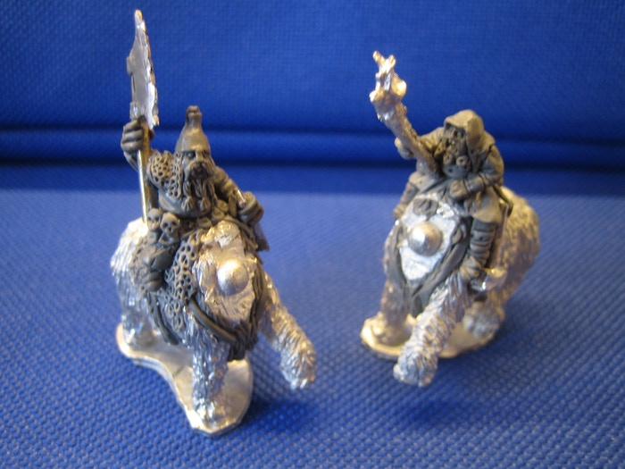 10mm Ogre Mammoth Riders from Black Gate Miniatures by Black