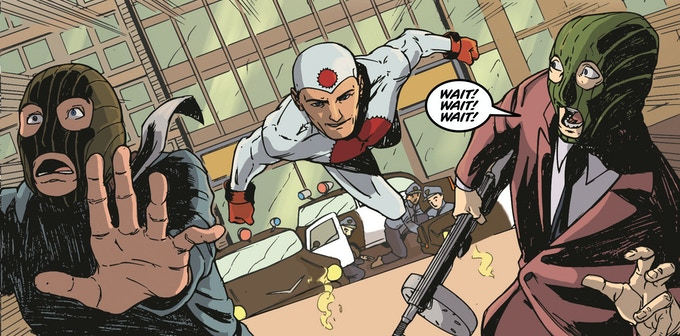 Panel from The Atomic Thunderbolt #1