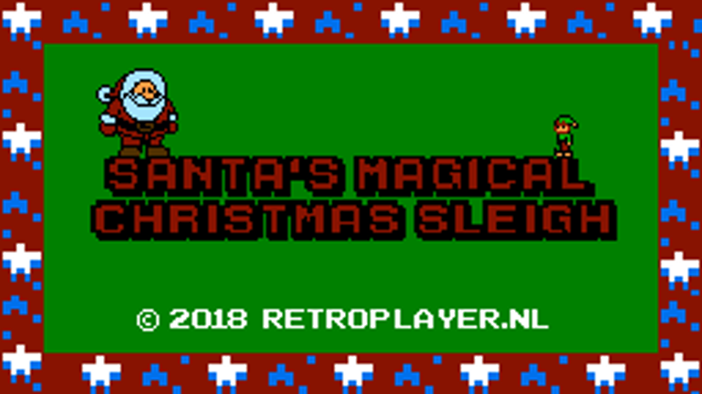 SANTA'S magical Christmas Sleigh - A New Game for the NES