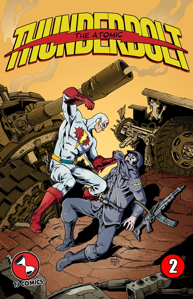 The Atomic Thunderbolt #2 standard cover