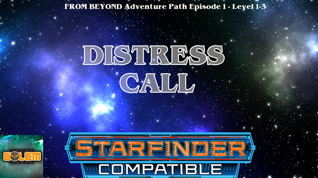 FROM BEYOND: DISTRESS CALL Sci-fi RPG Adventure project video thumbnail