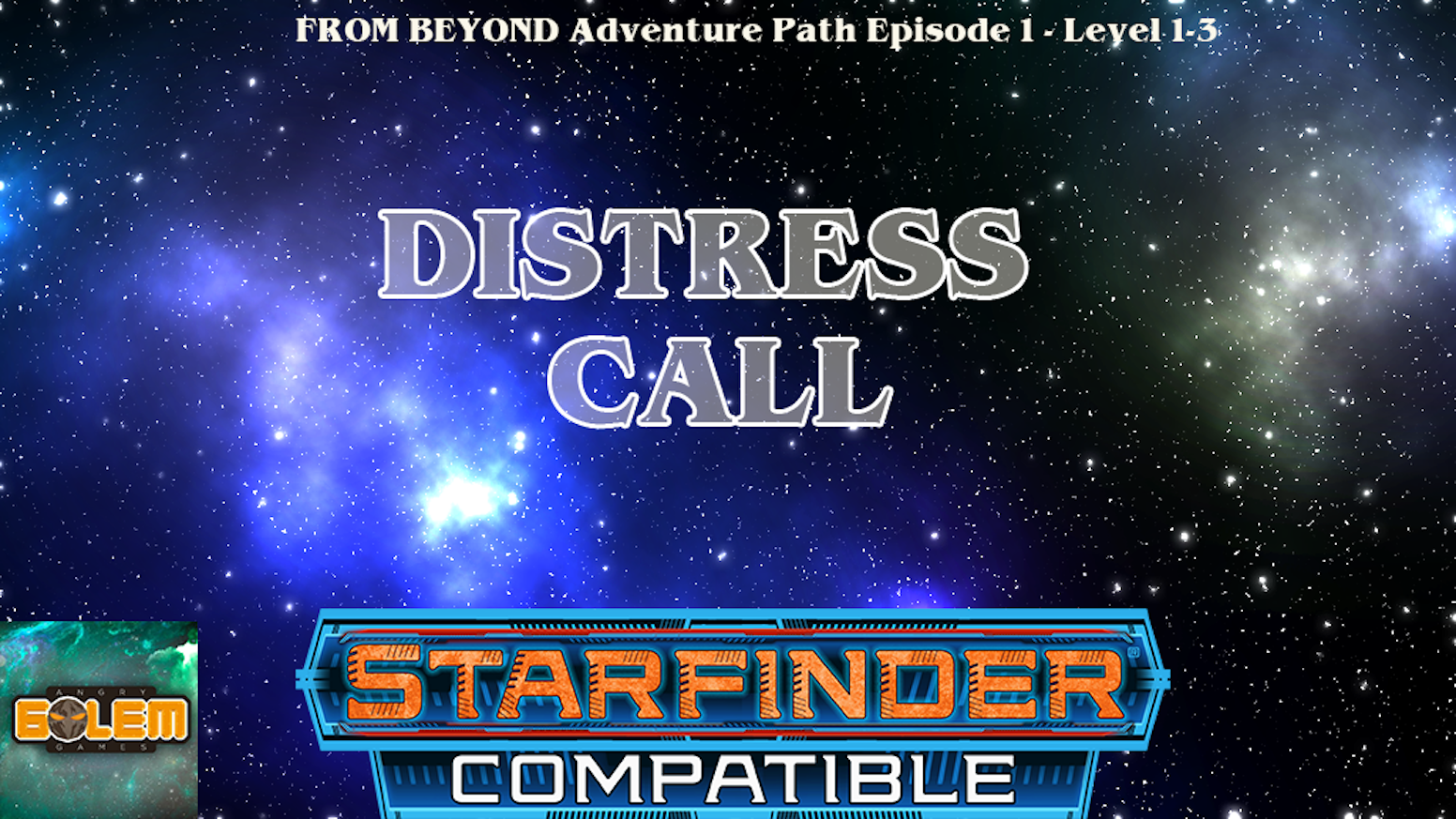 """The first of six Starfinder RPG compatible adventures,a mystery to add to your game or create a new one."""
