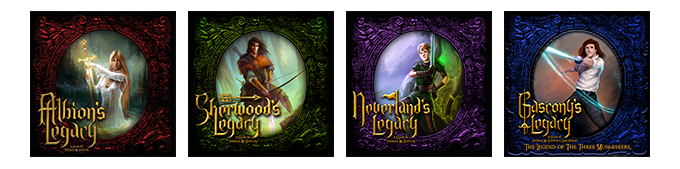 Games Designed by Lynnvander Studios, Published by Jasco Games