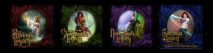 Games Designed by Lynnvander Studios, Published by Jasco Games