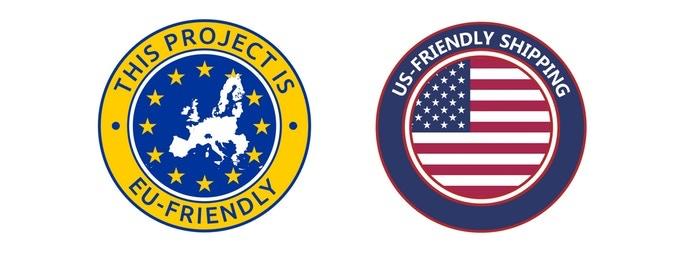 EU and EEUU Friendly Shipping