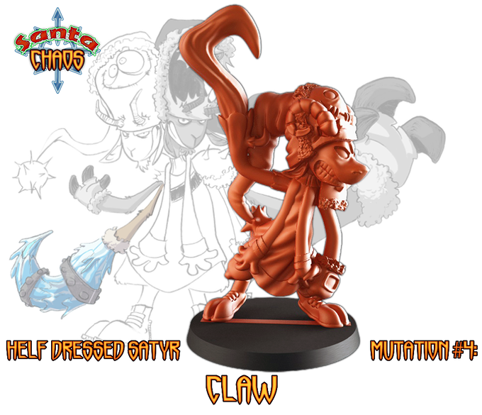 at 5000€ Claw will replace a non-mutated satyr for free - it could be purchased as add-on for 7€