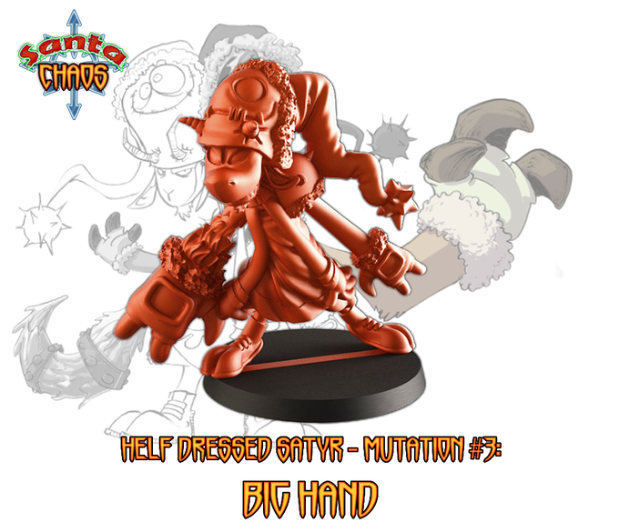 at 4500€ BigHand will replace a non mutated satyr for free - it could be purchased as add-on for 7€