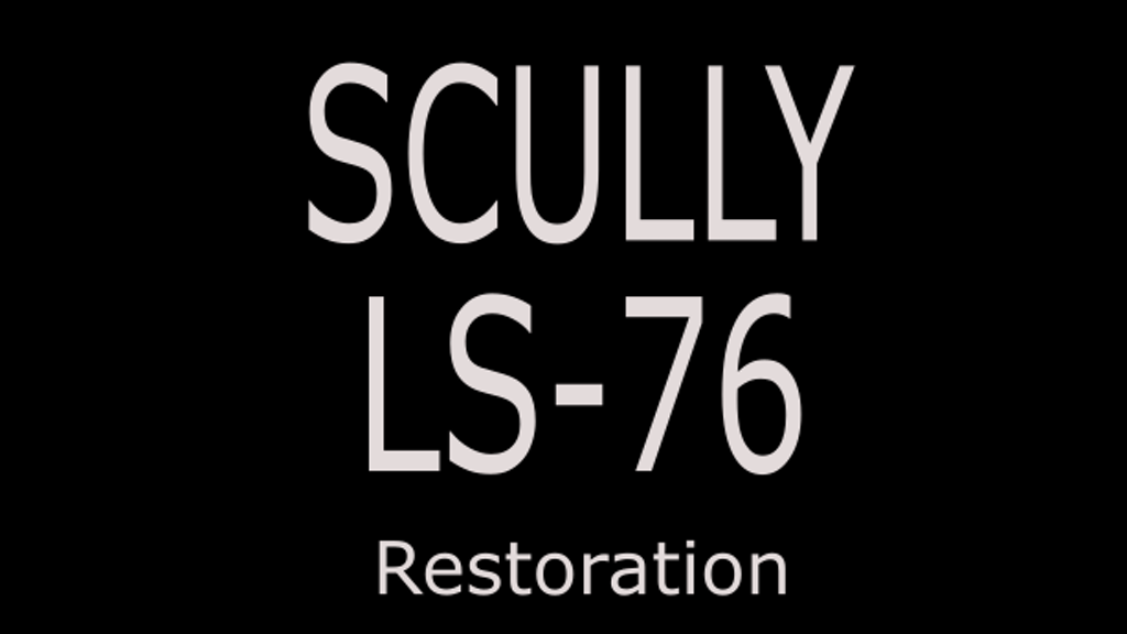 Scully LS-76 Vinyl Lathe Restoration.