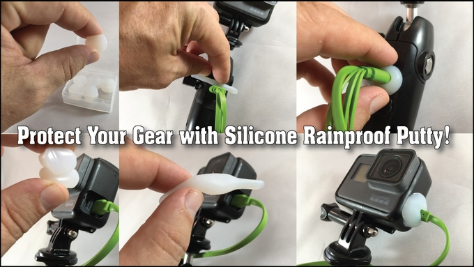Don't Let a Little Rain Ruin Your Day, Use Silicone Rainproof Putty to Seal Anywhere Water Can Get in!