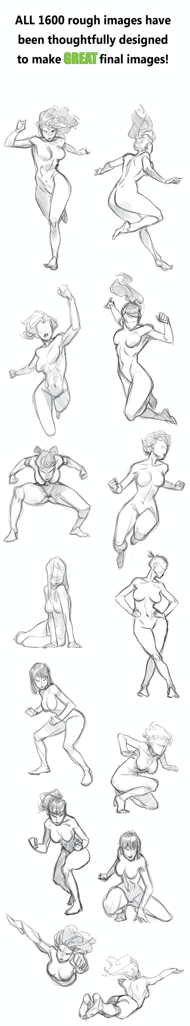 Masters Of Anatomy by Masters Of Anatomy » Female Action Poses Book ...