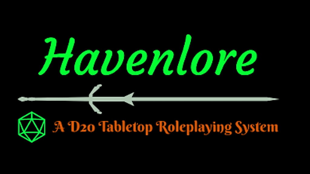 Project image for Havenlore - D20 Tabletop RPG