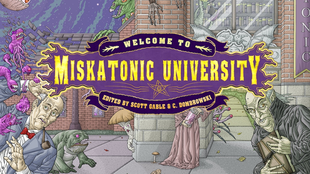 Welcome to Miskatonic University: An Anthology project video thumbnail
