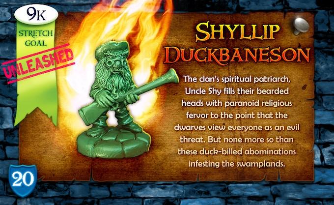 9k Stretch Goal Unleashed: Shyllip Duckbaneson!