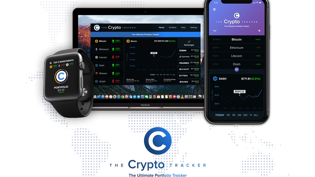 Project image for The Crypto Tracker - The Ultimate Portfolio Tracker
