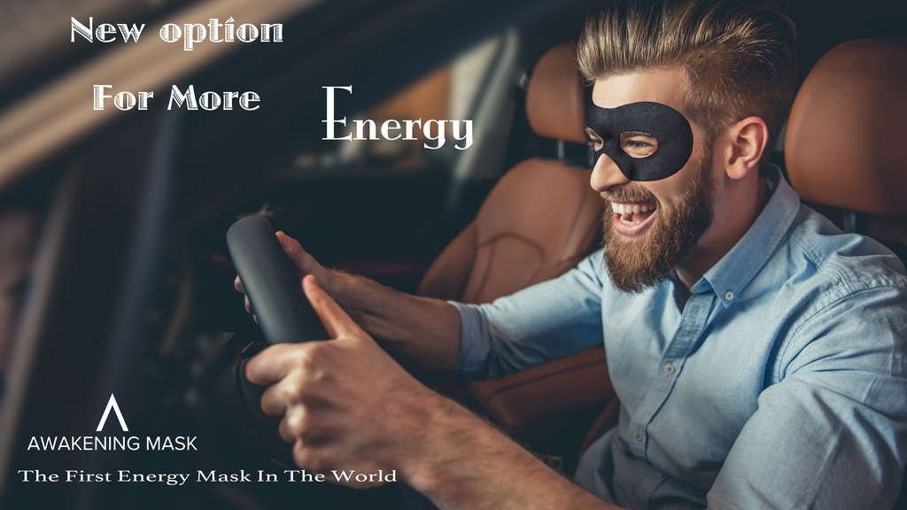 Awakening Mask: the first energy mask in the world の動画サムネイル