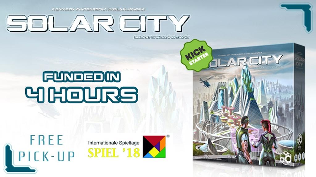 Solar City: a solarpunk game project video thumbnail