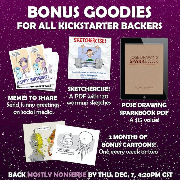 (More info on bonus goodies below)