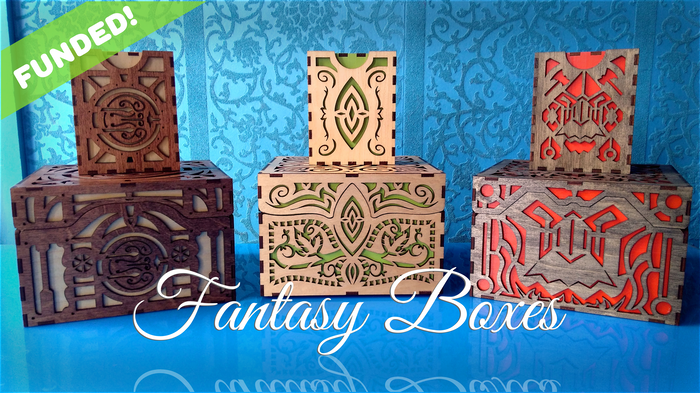 Did you miss the Kickstarter? Follow the link below to stay up to date on Fantasy boxes.