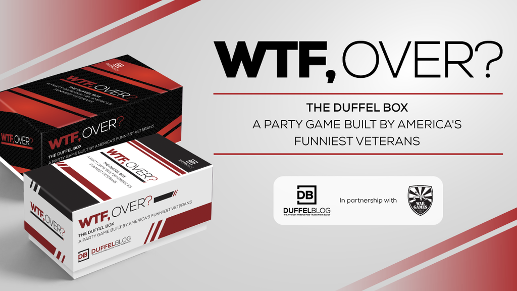 WTF, Over? A party game from America's funniest vets project video thumbnail