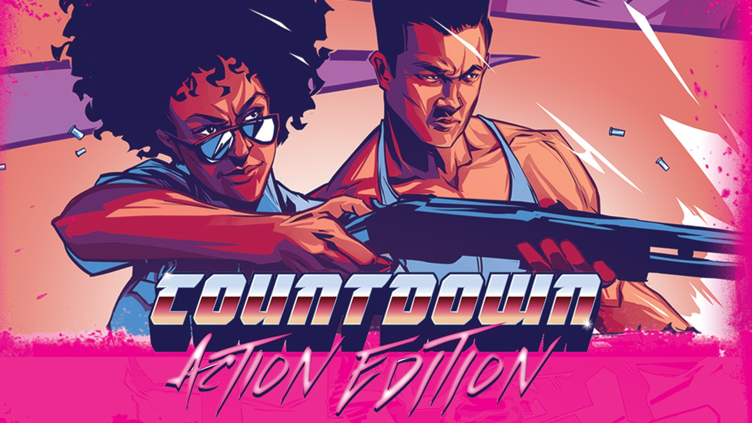 Welcome to Countdown: Action Edition, the 80's hidden role game! Miss the Kickstarter? You can still pledge below!