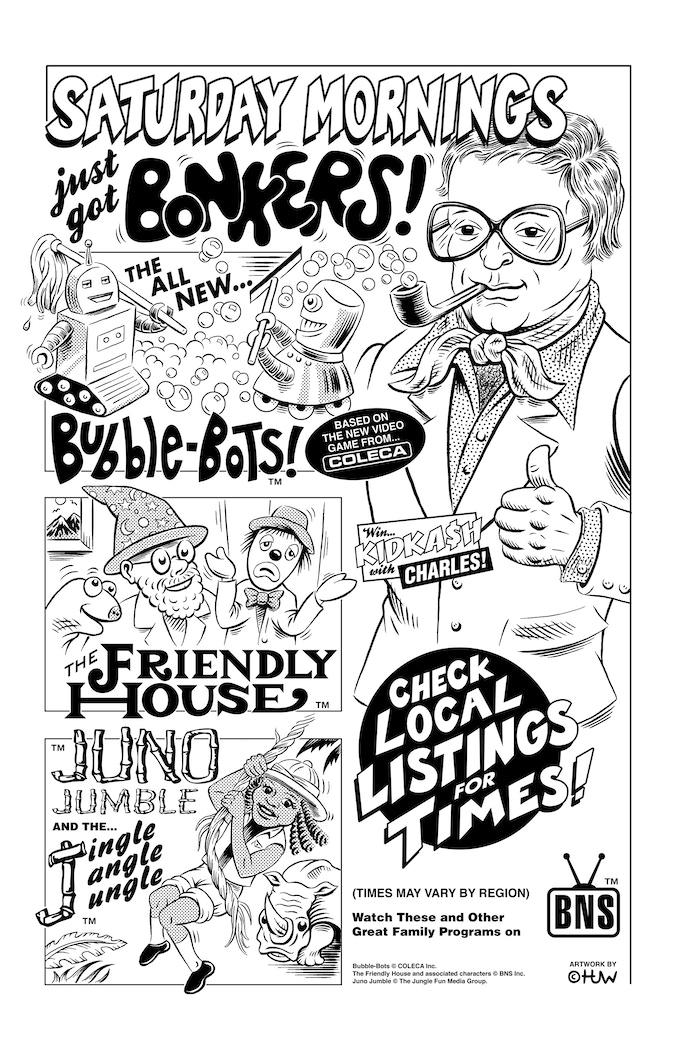 Saturday Morning Cartoon Ad from 1981