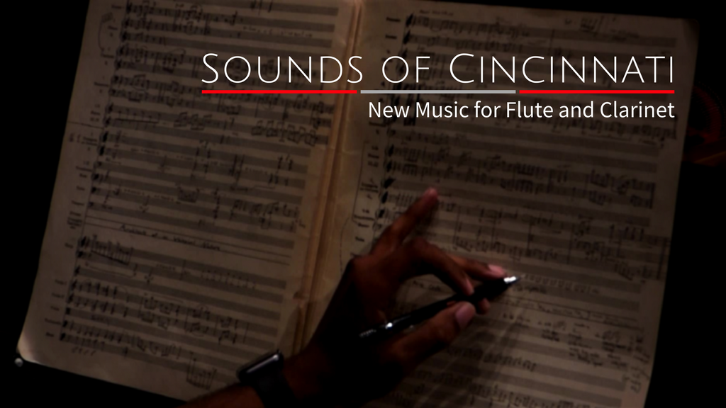 Sounds of Cincinnati - New Music for Flute and Clarinet project video thumbnail