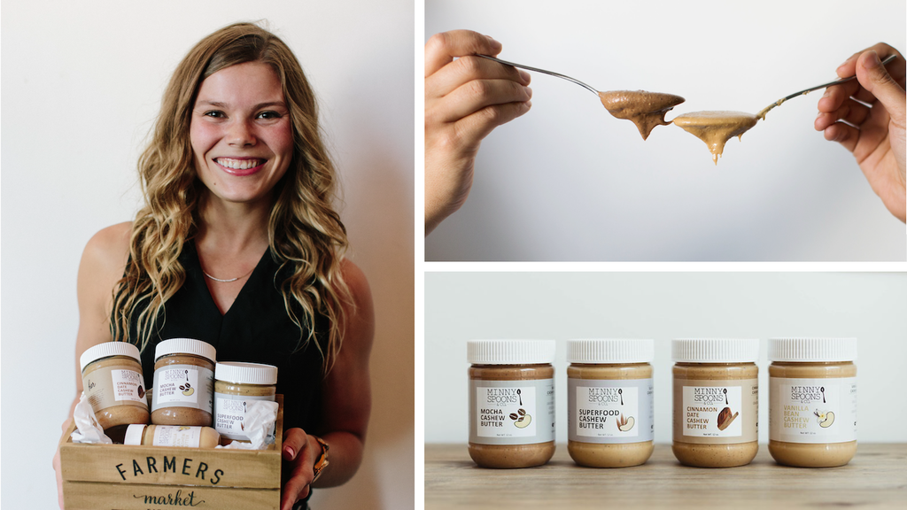 Minny Spoons - Cashew Butter + Energy Bites project video thumbnail