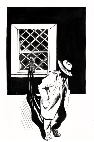 Sample of the interior illustrations by Delphes