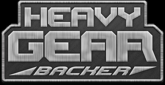 Heavy Gear Backer Patch.