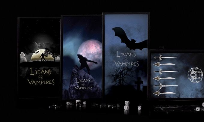 "The Fantasy Backgammon Collection ""Lycans vs Vampires"""