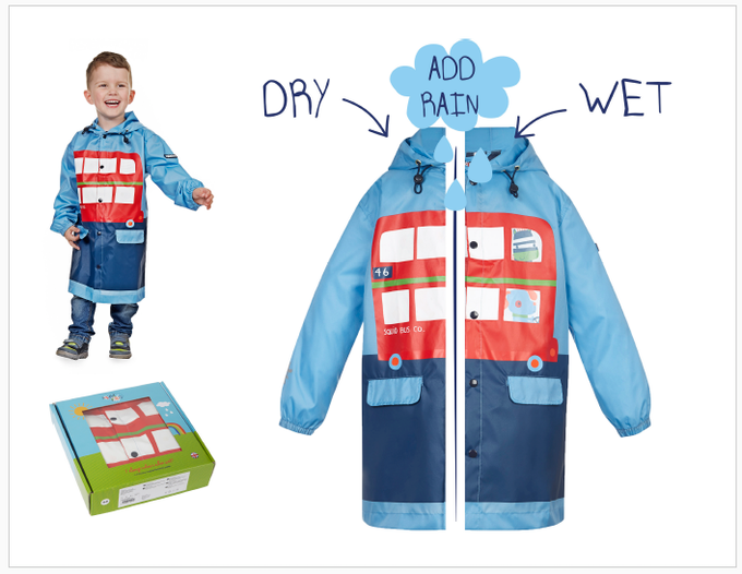 Reward #8 - Long Bus Jacket: Sizes 2/3/4/5 years old