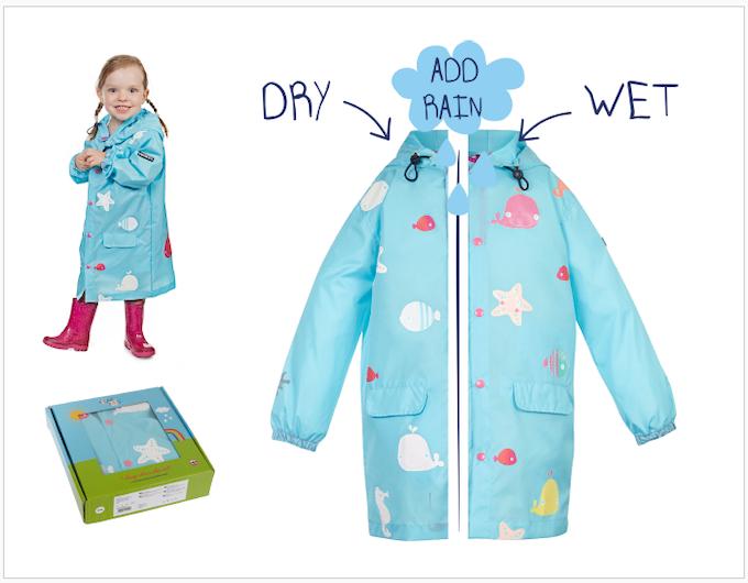 Reward #9 - Long Starfish Jacket: Sizes 2/3/4/5 years old