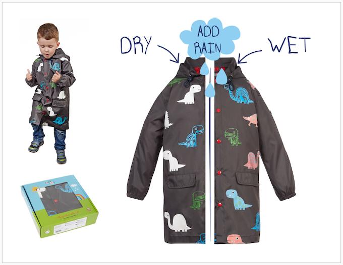 Reward #11 - Long Dino Jacket: Sizes 2/3/4/5 years old
