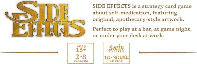 Side Effects by Pillbox Games — Kickstarter