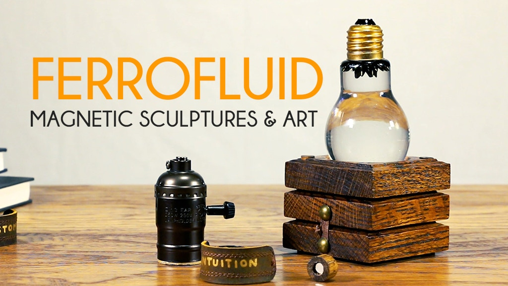 FERROFLUID | Magnetic liquid sculptures. project video thumbnail
