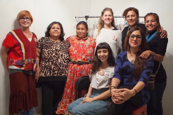 Part of our team: From Left: Lise, Elide, Mariquita, Michelle, Veronica, Sujey. In front Cara and Jane